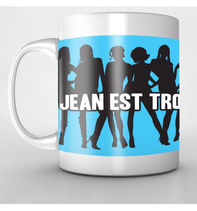 Mug Personnalisé Jean trop sexxxy