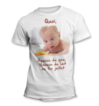 Tee-Shirt Bébé Surpris