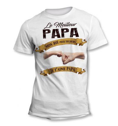Tee-Shirt Papa Roi