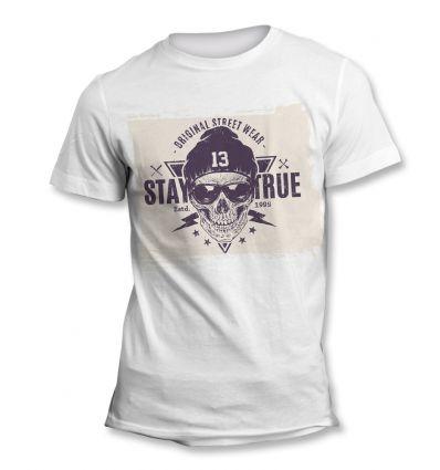 Tee-Shirt Skull Street