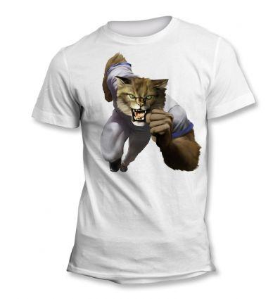 Tee-Shirt Chat Sauvage