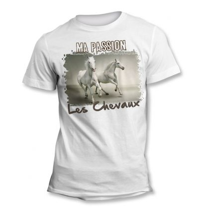 Tee-Shirt Passion Cheval
