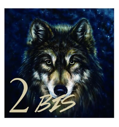 Plaque numéro de maison wolf