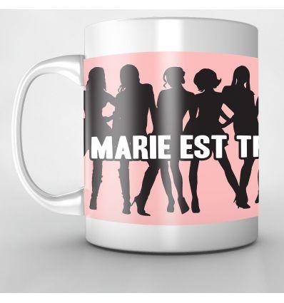Mug Personnalisé Marie trop sexxy