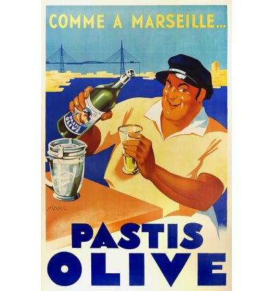 Pastis Olive Comme à Marseille
