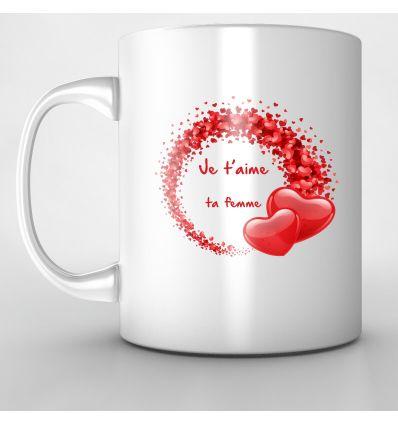 Mug Multi Coeur