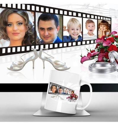 Mugs Personnalisés Polaroid