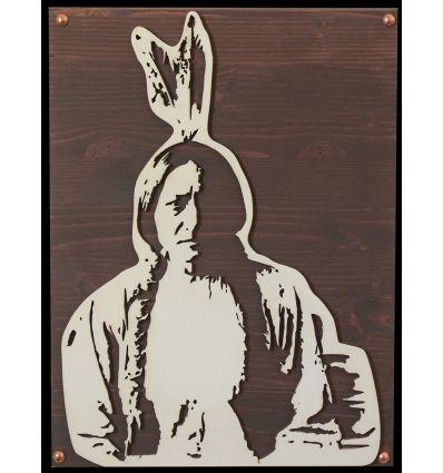 Portrait Bois Sitting Bull