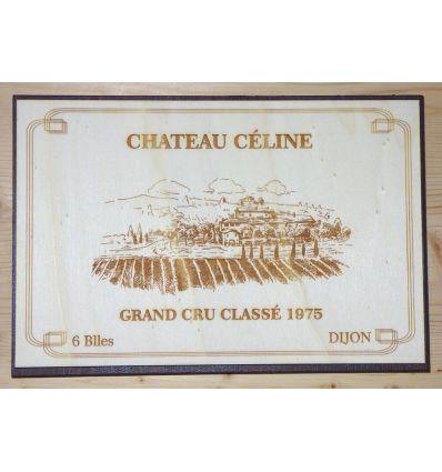 Plaque Caisse Vin