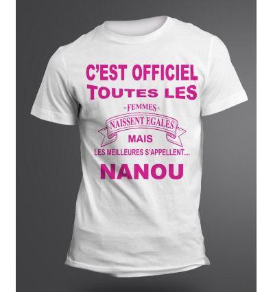 Tee-Shirt Prénom Femme