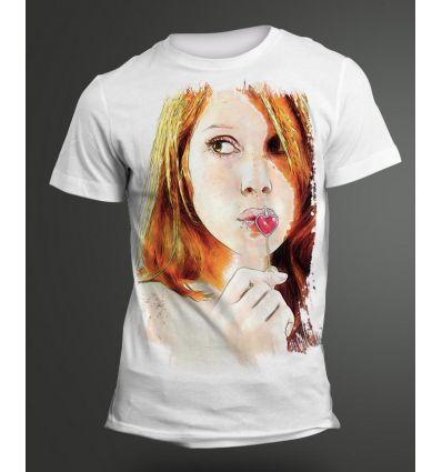 Tee-Shirt Femme Sucette