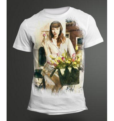 Tee-Shirt Femme Vélo
