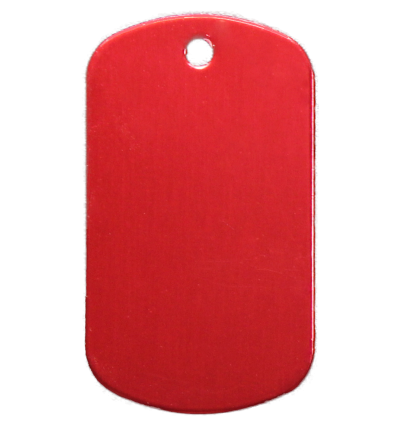 Dog Tag Army Aluminium Couleur