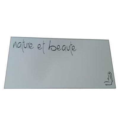 Miroir Gravé Personnalisé 15 cm x 30 cm